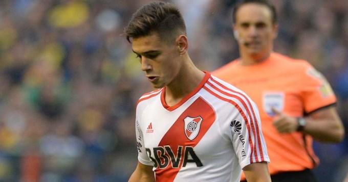 Doping en River: Martínez Quarta, positivo en la Copa