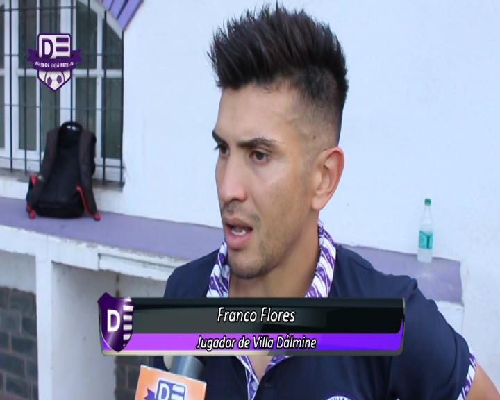 Franco Flores hizo un balance de la Campaña de Villa Dàlmine