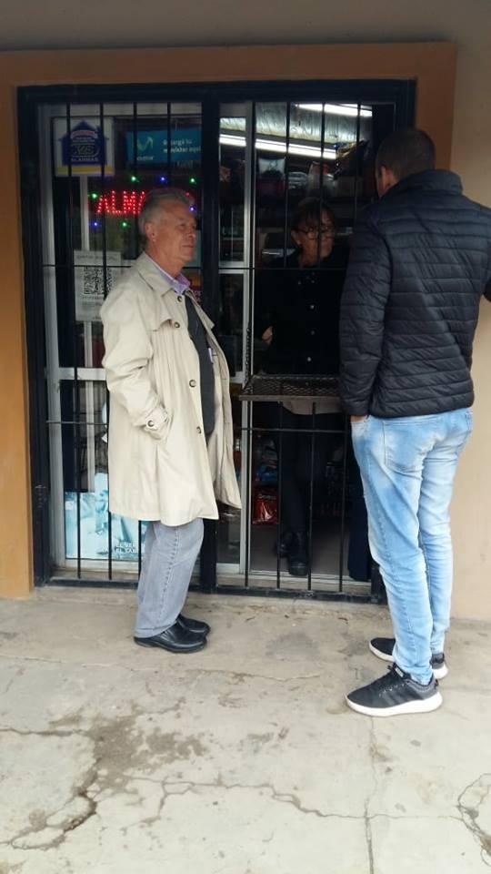 Los concejales Colella y Romano recorrieron Barrio La Josefa