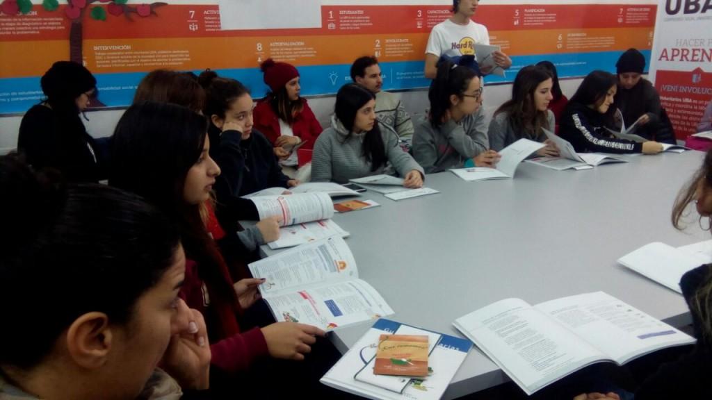 Se realizó el segundo encuentro del Voluntariado de Nutrición