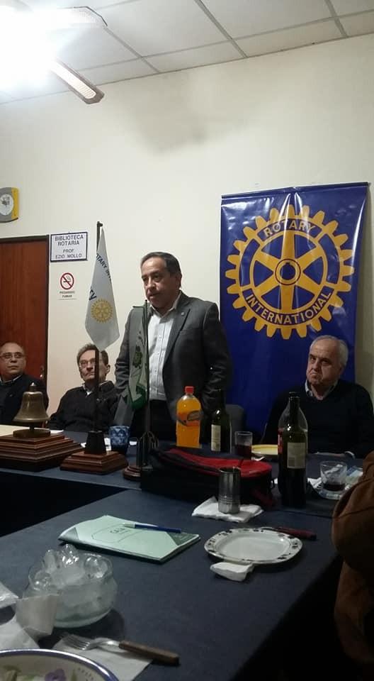 Rotary Club Campana agasajó a los periodistas en su día