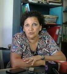 Lía Fernández se refirió al paro docente