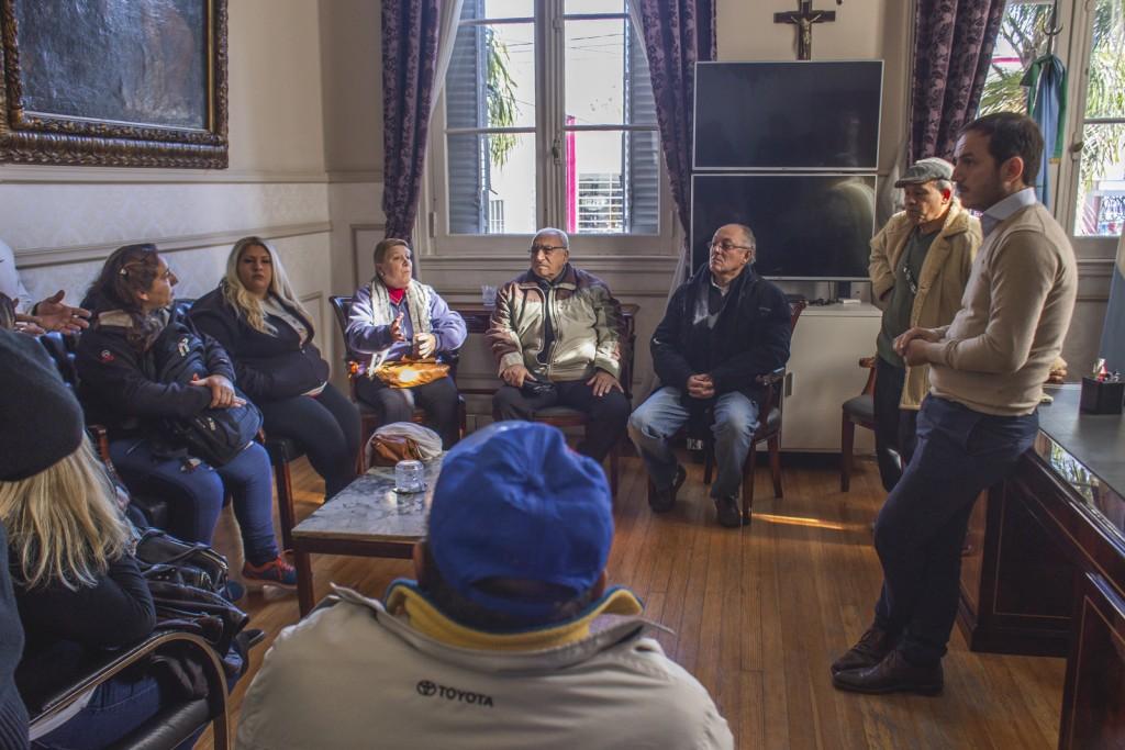 El Intendente se reunió con vecinos y confirmó el veto a la ordenanza de la oposición