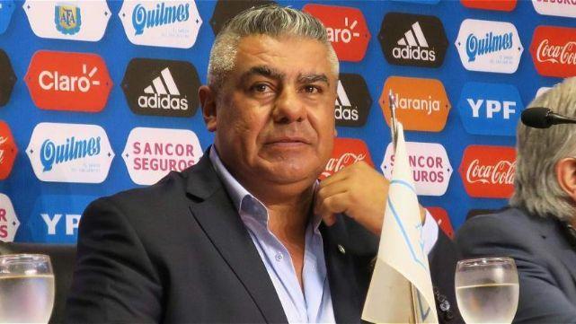 Claudio Tapia: Hay gente que quiere dañar a la selección