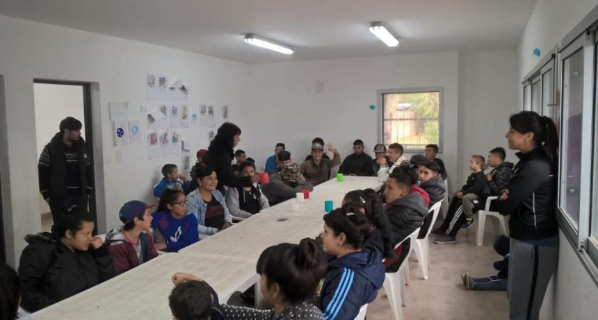 En el Centro Recreativo de La Josefa también se llevan a cabo programas sociales para jóvenes