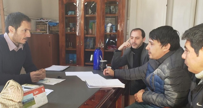 El Intendente detalló a vecinos de Otamendi las obras que inició el Municipio en el barrio