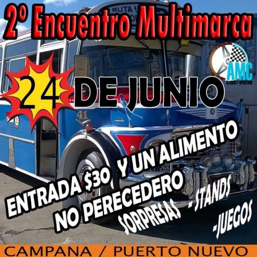 2º Encuentro Multimarca Campana en Puerto Nuevo