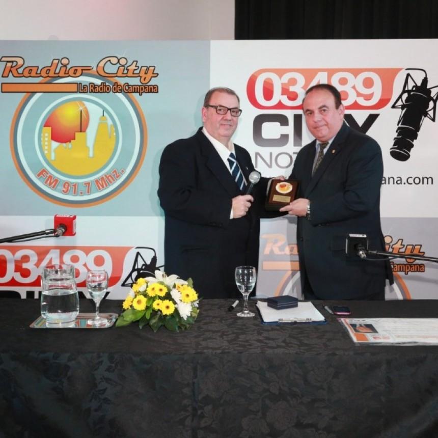 Radio City Campana FM 91.7 Mhz en su evento entregò reconocimientos