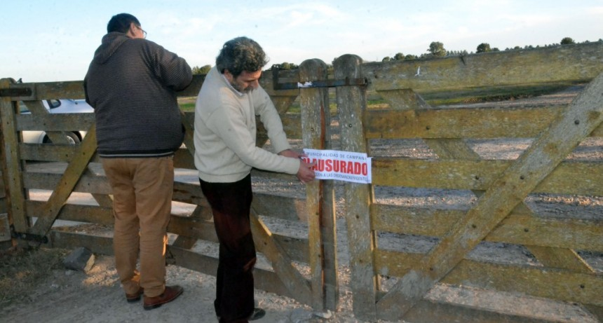 El Municipio volvió a sancionar a LandNort