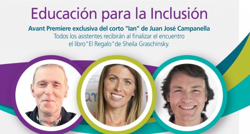 """""""Educación para la inclusión"""", una nueva charla en el Auditorio de Tenaris"""