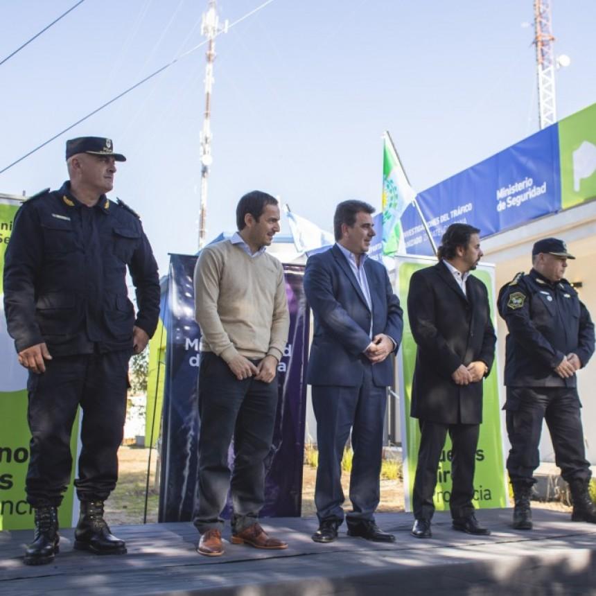Ritondo y Abella inauguraron una sede de la Oficina de Lucha contra el Narcotráfico