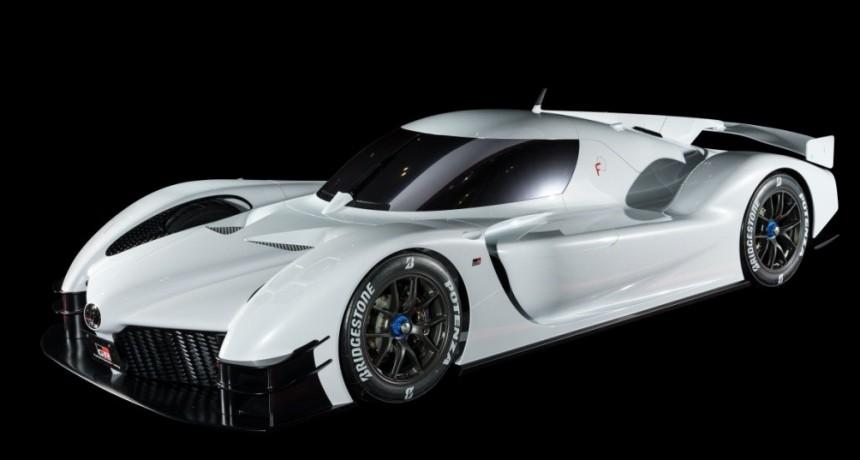 Toyota exhibió el GR Super Sport Concept  durante las 24 Horas de Le Mans