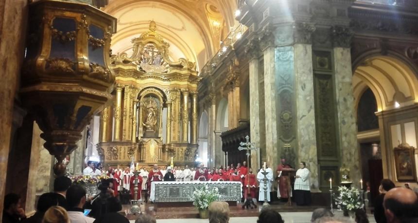 Inicio misión pastoral del Nuncio Argentino