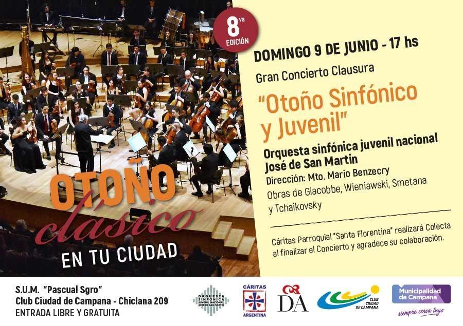 """La Orquesta Sinfónica Juvenil Nacional clausura la 8º edición de """"Otoño clásico en tu ciudad"""""""