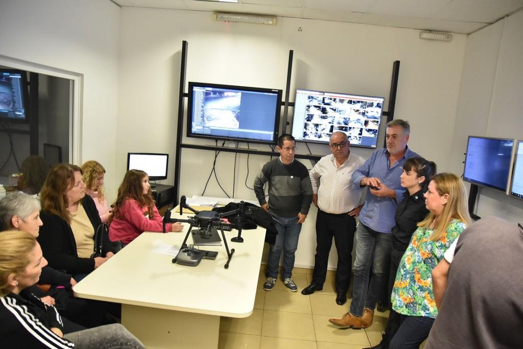El Municipio instaló nuevas cámaras de seguridad en la zona del Club Ciudad