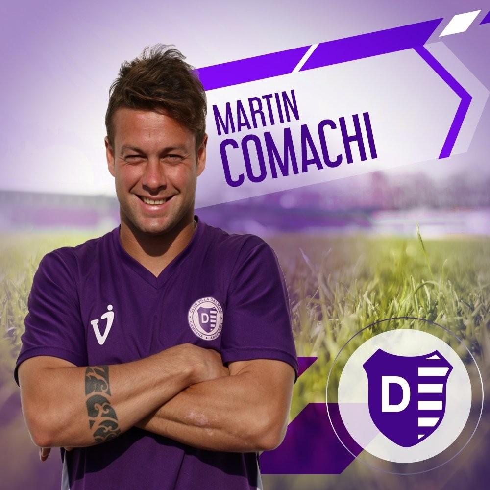 Martín Comachi rescindió su contrato con Villa Dálmine