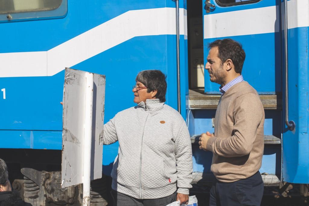 El Tren Sanitario ya atiende en Campana