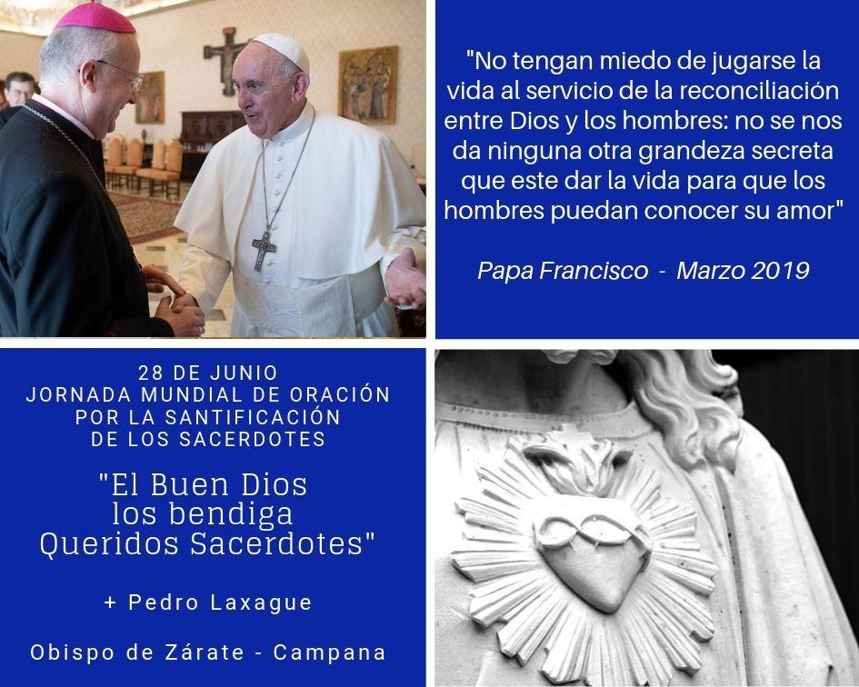 28 DE JUNIO: JORNADA MUNDIAL DE ORACIÓN POR LA SANTIFICACIÓN DE LOS SACERDOTES