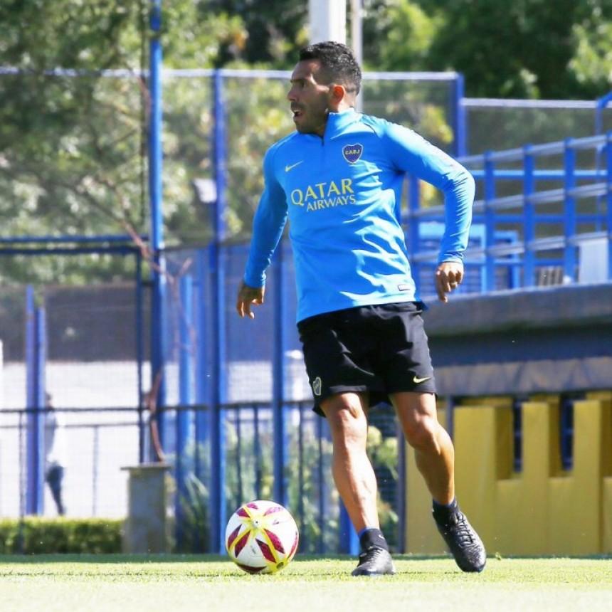 Lisandro López entrenó con normalidad y sería titular frente a Tigre