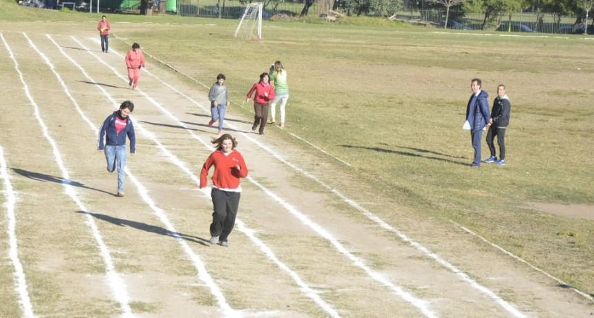 Cientos de jóvenes con discapacidad participaron de un encuentro multideportivo