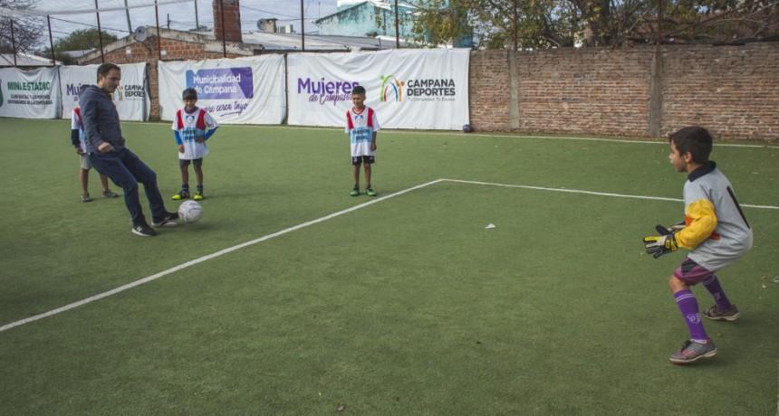 Sentir realizó un torneo de fútbol infantil solidario