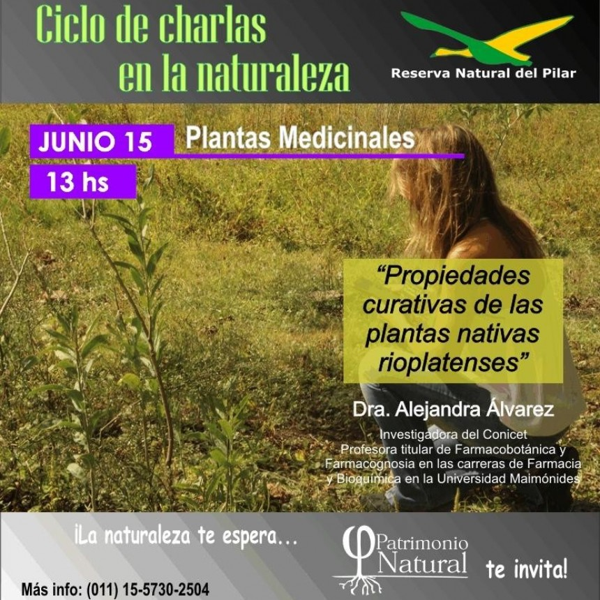Nueva Charla sobre la naturaleza en la Reserva Natural Municipal de Pilar