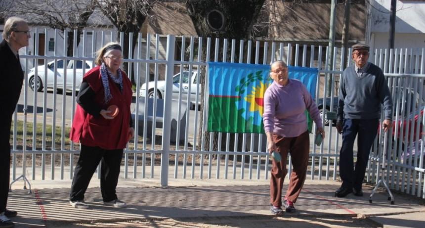 Adultos mayores participaron de la etapa local de los Juegos Bonaerenses