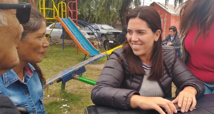 """Soledad Calle: """"Contamos con todos para devolverle el Municipio a los campanenses"""""""