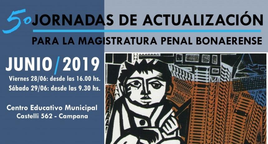 Nuevas jornadas de Actualización para la Magistratura Penal Bonaerense