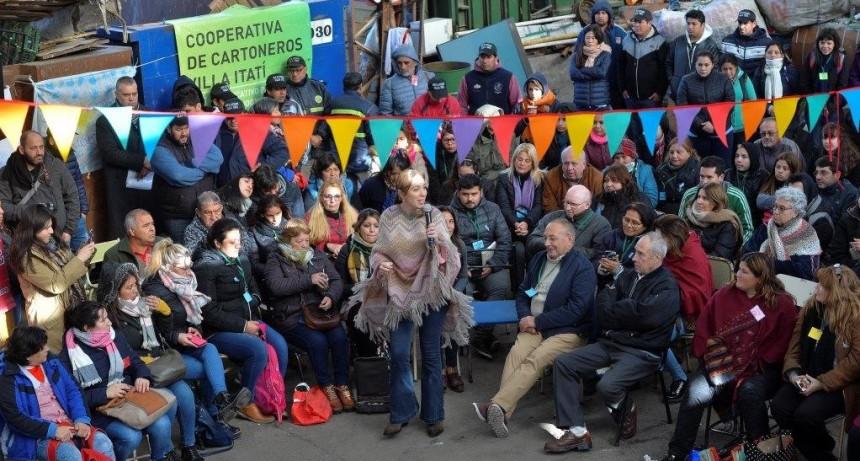 VIDAL PARTICIPÓ EN ITATÍ DE UN ENCUENTRO CON 200 REFERENTES DE ORGANIZACIONES COMUNITARIAS DEL CONURBANO