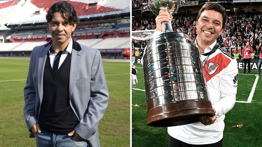 Marcelo Gallardo cumple cinco años como DT de River