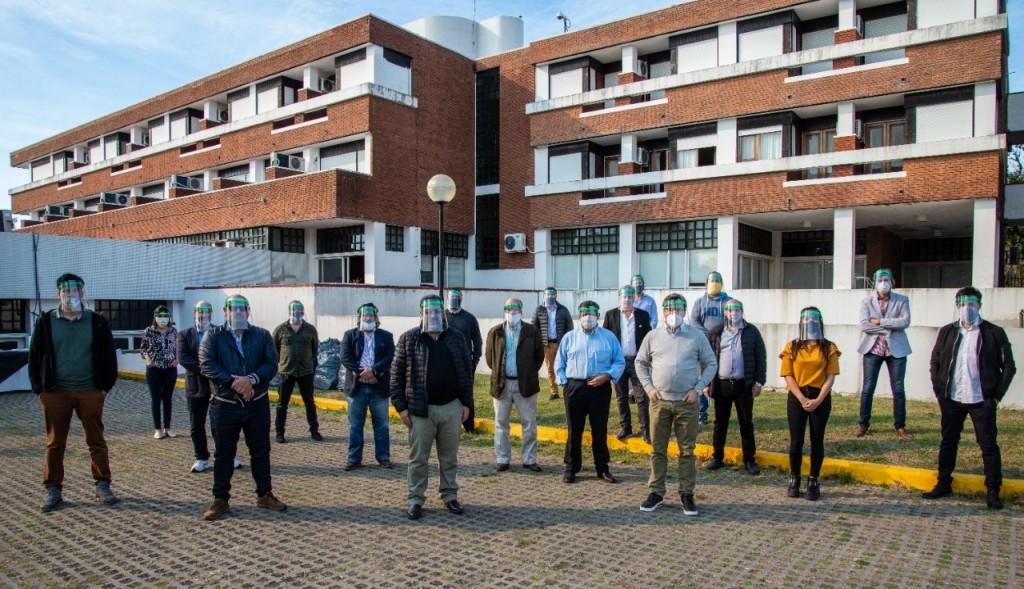 Tenaris donó más de 4 mil protectores faciales destinados a pymes industriales bonaerenses