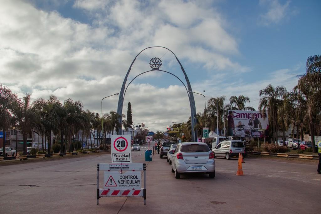 Se habilitó el ingreso a la ciudad desde el Arco