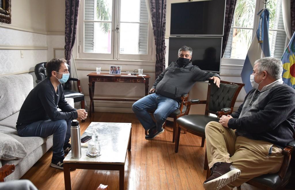 Abella se reunió con el nuevo   jefe de la Anses UDAI Campana