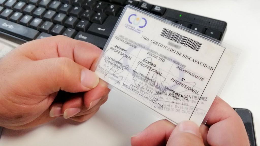 Prorrogan la validez del Certificado Único de Discapacidad