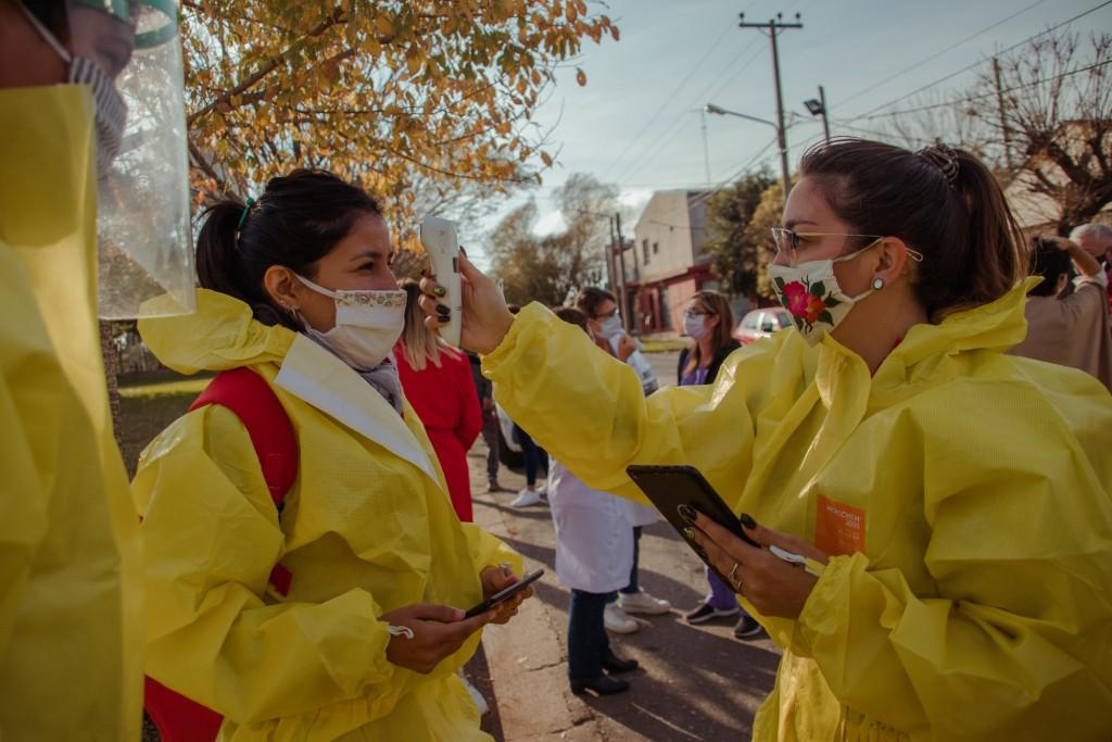 Continúan los operativos sanitarios para detectar casos de Covid-19