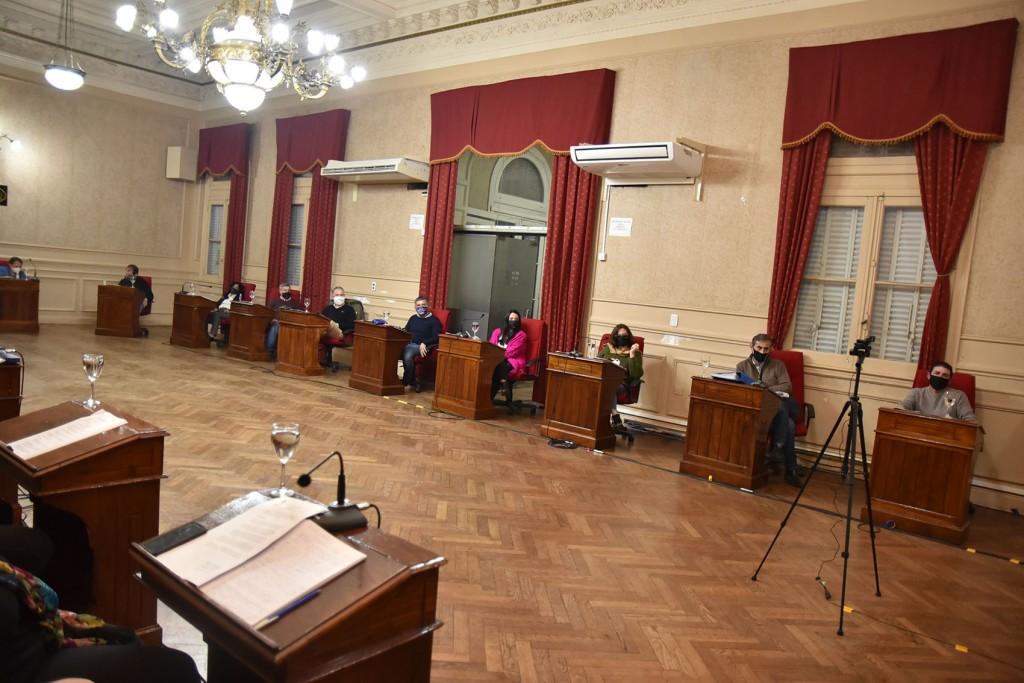 Los concejales de Juntos por el Cambio resaltaron el buen manejo de las finanzas municipales que realiza el intendente Abella