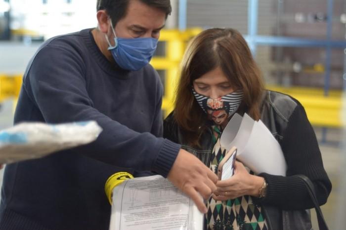 Operación Shanghai: llegan tres barcos con insumos médicos equivalentes a 15 aviones