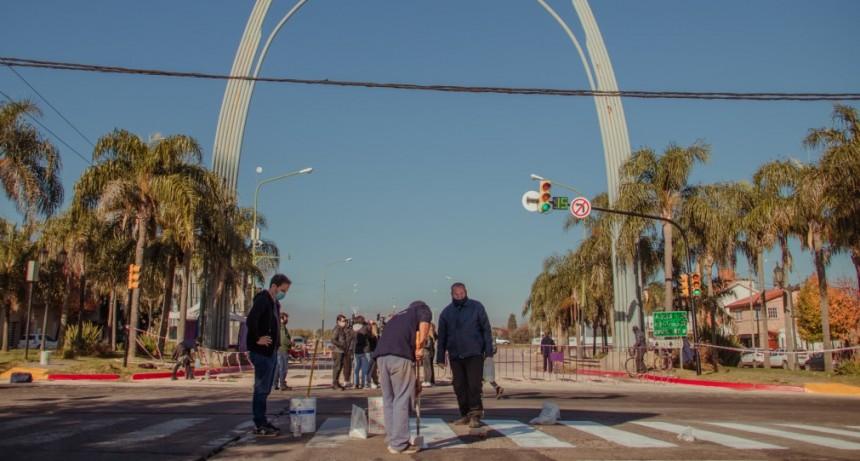 Se eliminaron los giros a la izquierda en Varela y Andrés del Pino