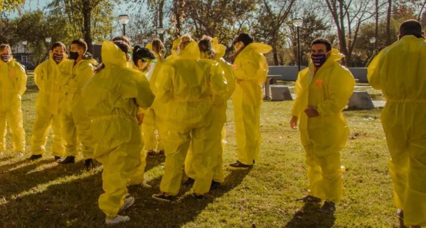 Río Luján: se realizó un operativo sanitario para detectar casos sospechosos de Covid - 19
