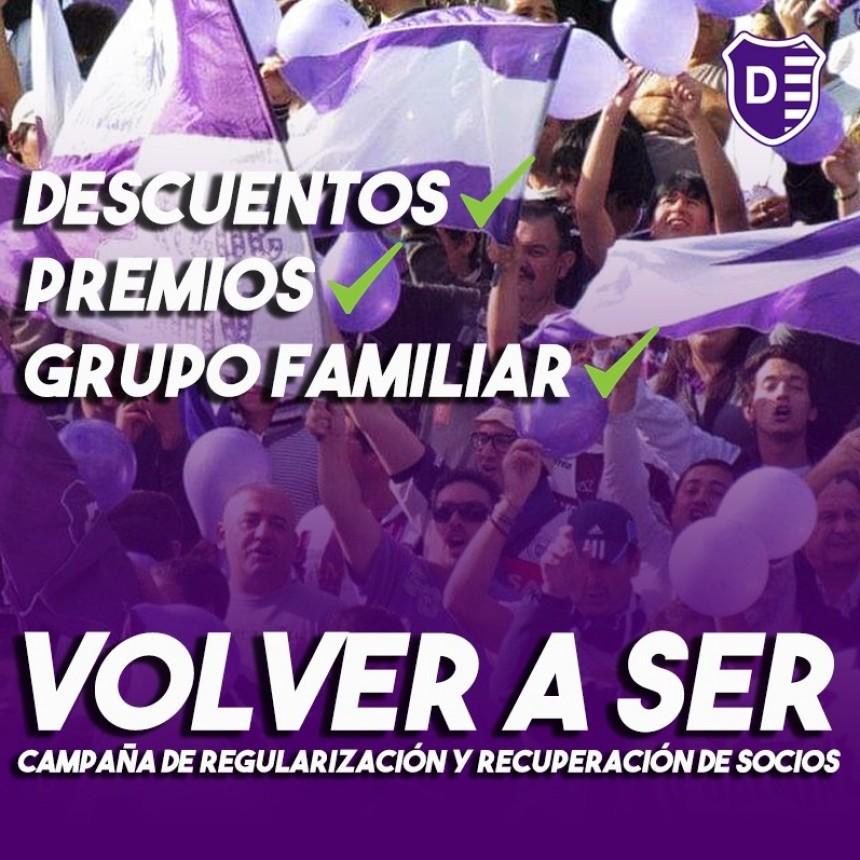 Villa Dálmine lanza su campaña de socios : #Institucional | VOLVER A SER