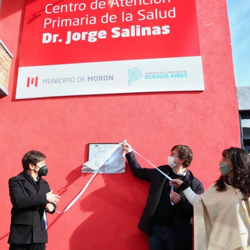 Kicillof participó de la inauguración del CAPS Dr. Jorge Salinas de Castelar Norte
