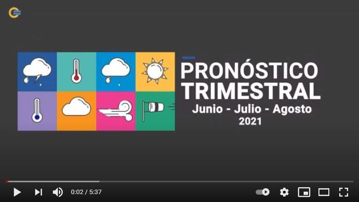 Pronóstico Climático para el invierno 2021