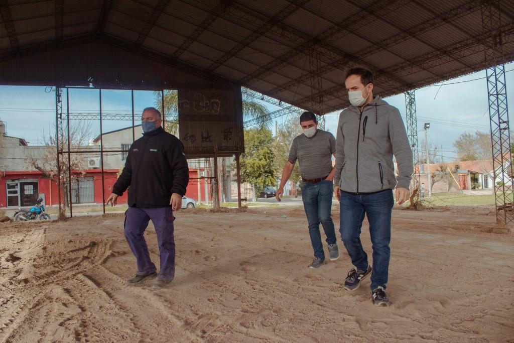 Comienzan las obras de construcción de la sociedad de fomento de Barrios Amigos