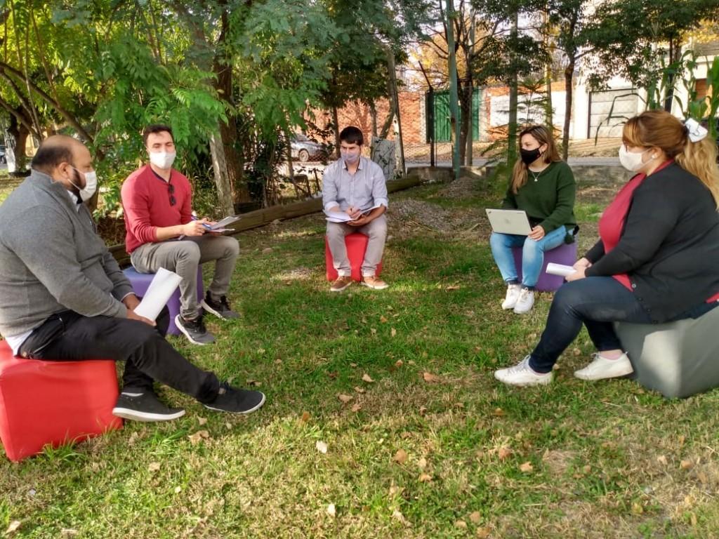Jóvenes de Campana lanzaron la Red Barrial de Apoyo Escolar