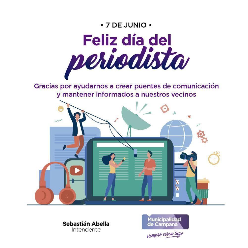 7 DE JUNIO DIA DEL PERIODISTA Y NUESTRO PROGRAMA ESPECIAL