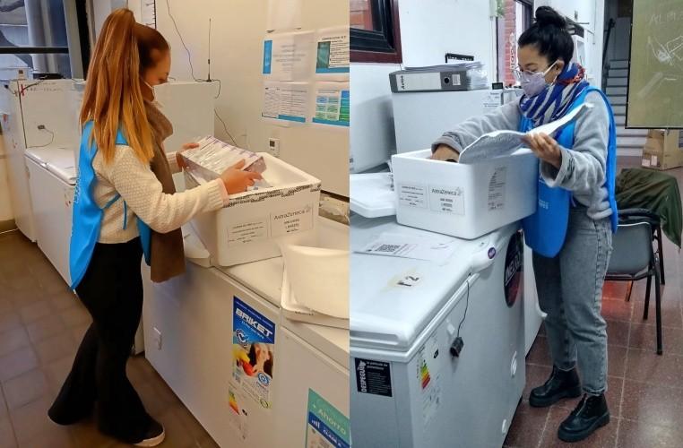 Llegaron 1.200 vacunas para las distintas postas de vacunación