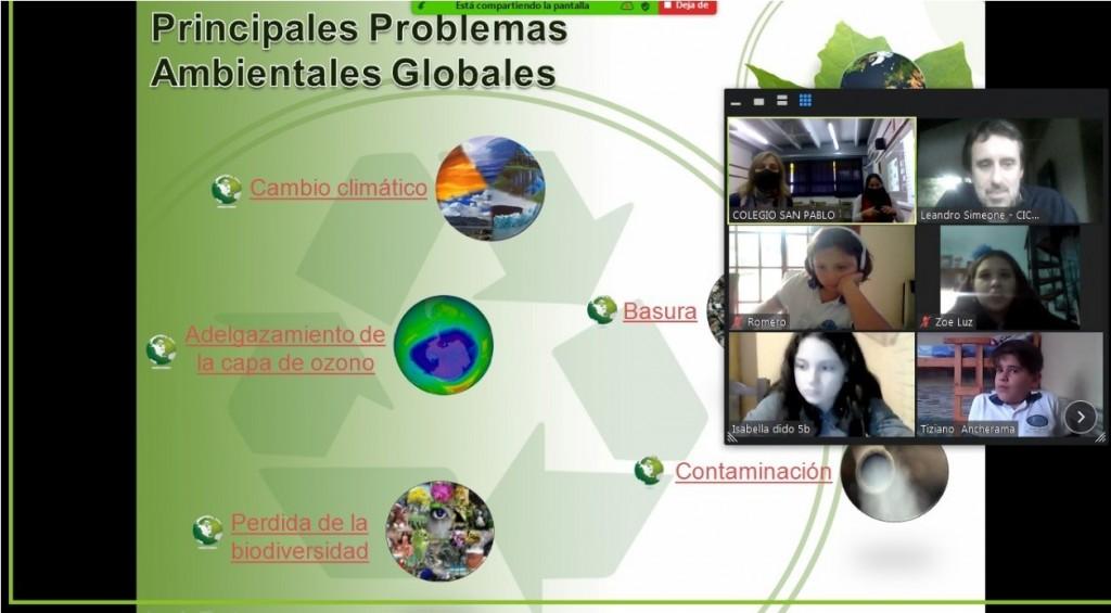El CICACZ presentó una serie de charlas por el Día Mundial del Medio Ambiente