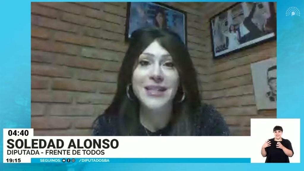 Ante la Cámara de Diputados, Soledad Alonso repudió las declaraciones de Bugallo