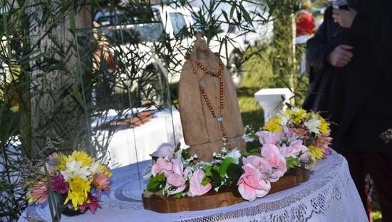 Se celebra el 21º aniversario del hallazgo de la imagen de la Virgen del Canchillo